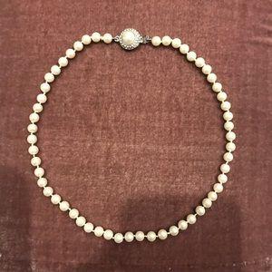 New Lauren Ralph Lauren Imitation Pearl Necklace